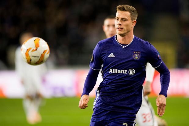 Anderlecht prête James Lawrence au FC St. Pauli