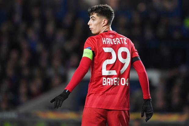 Bayer Leverkusen moet ook in halve finale Duitse beker wonderboy Havertz missen