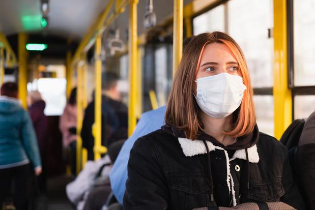 Het nieuwe coronavirus kan worden overgedragen tijdens een treinrit