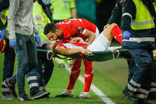 Zinho Vanheusden absent 6 mois: rupture des ligaments croisés pour le capitaine du Standard