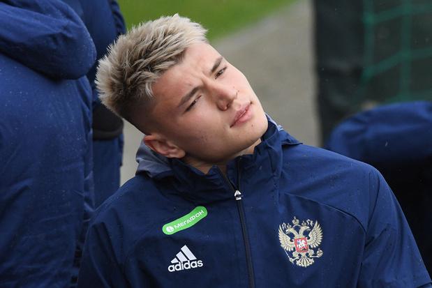 Andrej Mostovoj haakt af bij EK-tegenstander Rusland