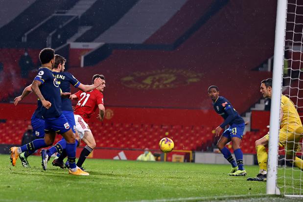 Premier League: Manchester United égale le plus gros score en championnat face à Southampton