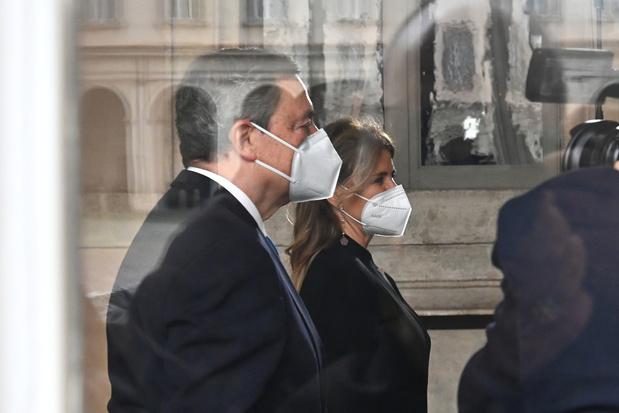 """Draghi veut """"reconstruire"""" l'Italie mise à genoux par la pandémie"""