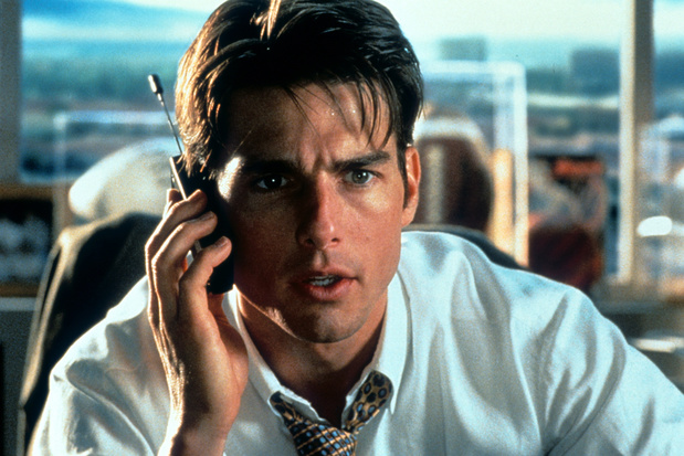 Tv-tip: 'Jerry Maguire' is een romantische Hollywoodklassieker over de onromantische kant van topsport