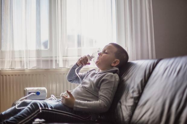 Slaapapneu correleert met luchtweginfecties tijdens de kinderjaren