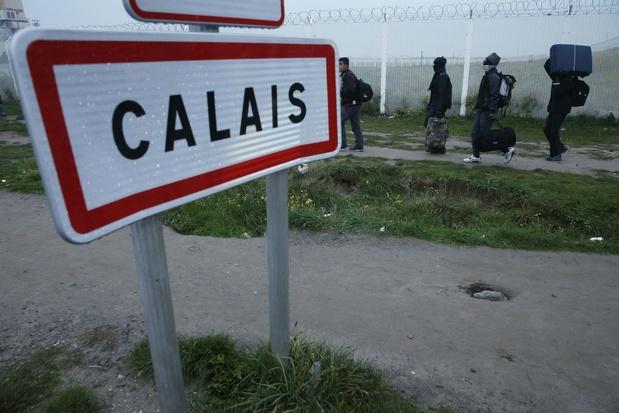 Vijftien migranten gered voor kust van Pas-de-Calais