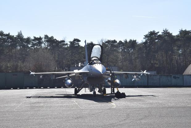 Décollage d'alerte pour deux F-16 de Florennes pour intercepter des bombardiers russes