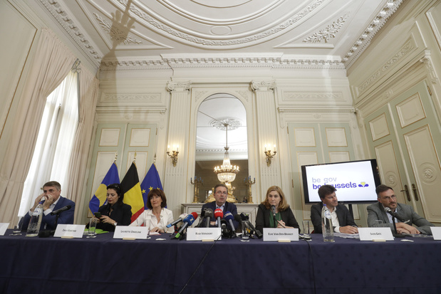 L'accord de gouvernement pour la Région bruxelloise a été dévoilé