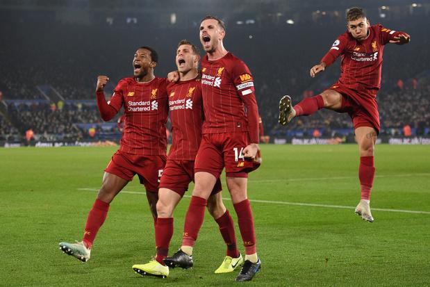 Liverpool surclasse Leicester et s'envole encore un peu plus en tête