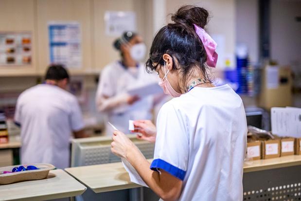 Coronavirus en Belgique: Plus de 11.000 contaminations par jour en moyenne