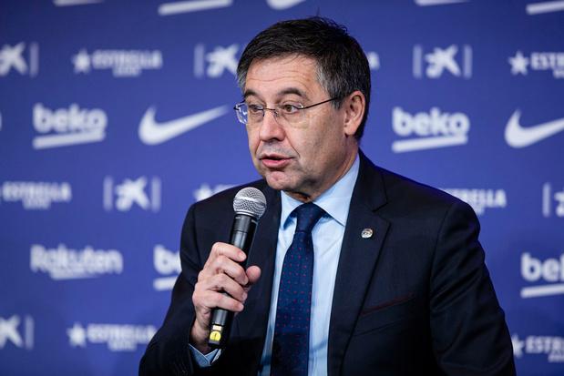 Barcelona-voorzitter drukt geruchten kop in: 'Messi sluit carrière bij ons af'
