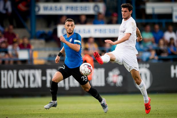 Europa League: La Gantoise, battue à Viitorul (2-1) mais qualifiée pour le 3e tour