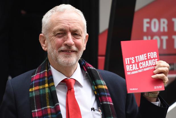 """Elections britanniques: le """"Labour"""" veut nationaliser à tout va"""