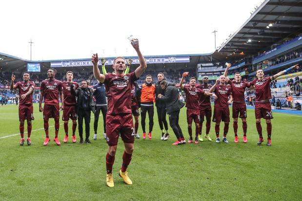 Pro League beslist: Club kampioen, Waasland-Beveren degradeert