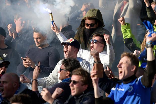 Les chants antisémites des supporters du Club de Bruges sont offensants, décide la CBAS