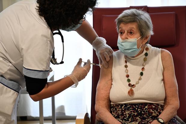 Covid: plus que 25 maisons de repos à vacciner en Wallonie