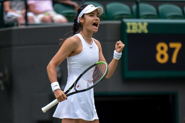 Wie is Emma Raducanu, de Britse tienersensatie op Wimbledon?