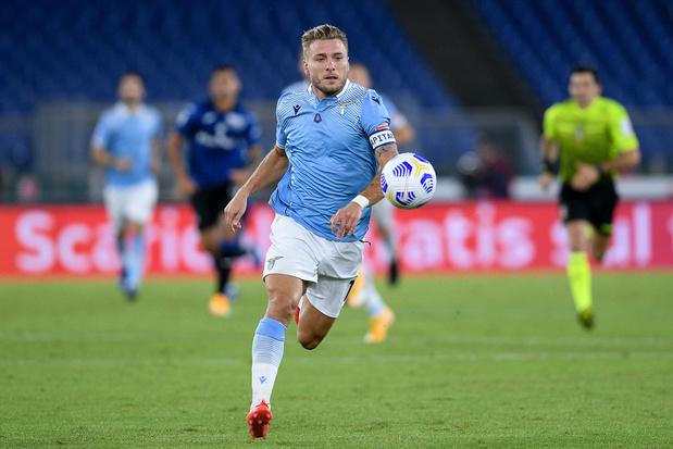 Ciro Immobile, de goalgetter van Lazio: 'Ik ben een atypische spits'