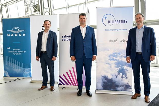 Création du groupe aérospatial Blueberry, fruit du rachat de la Sabca par Sabena Aerospace