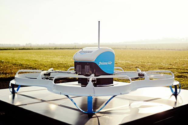 Amazon krijgt licentie voor droneleveringen in de VS