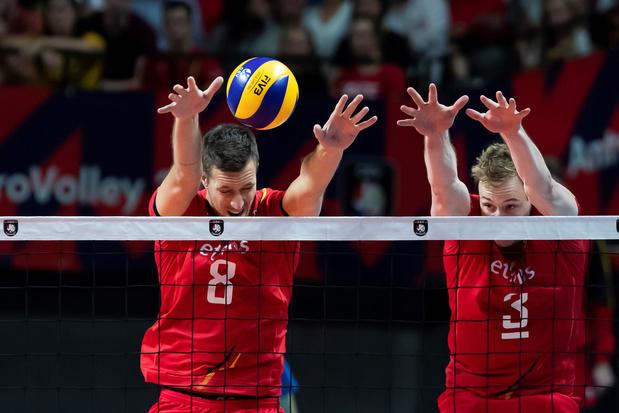 EK volleybal: kwalificatiekansen Red Dragons zijn miniem na nieuwe nederlaag