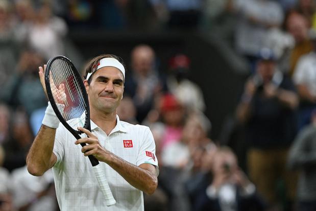 Roger Federer plaatst zich zonder problemen voor kwartfinales Wimbledon