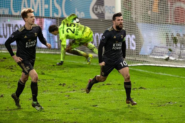 OH Leuven wint met last minute penalty van Zulte Waregem