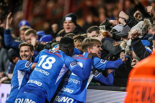 Racing Genk stap dichter bij Play-off I na zege in Kortrijk