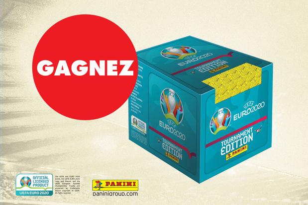 Gagnez une boîte de 250 stickers Panini