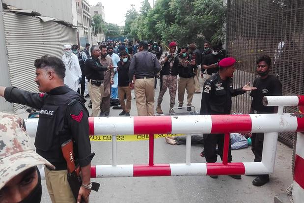 La Bourse de Karachi attaquée par des hommes armés