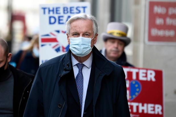 Brexitbesprekingen zouden dit weekend in Londen hervatten