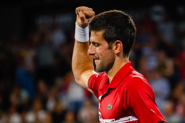 ATP Cup: Djokovic guide la Serbie en quarts, Nadal et l'Espagne sur la voie royale
