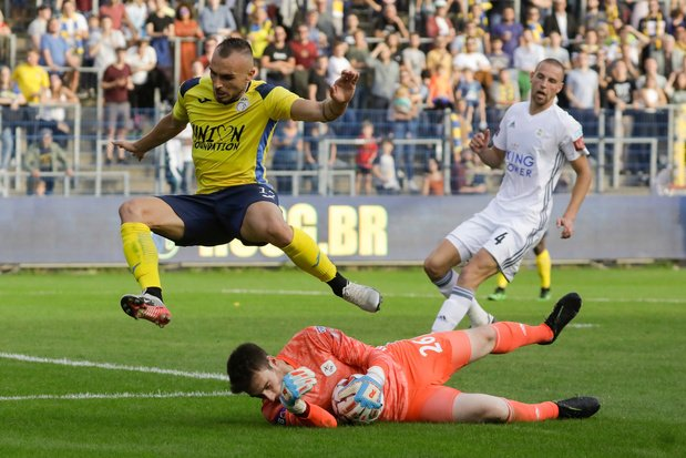 Un penalty permet à Oud Heverlee - Louvain d'arracher le nul à l'Union Saint-Gilloise