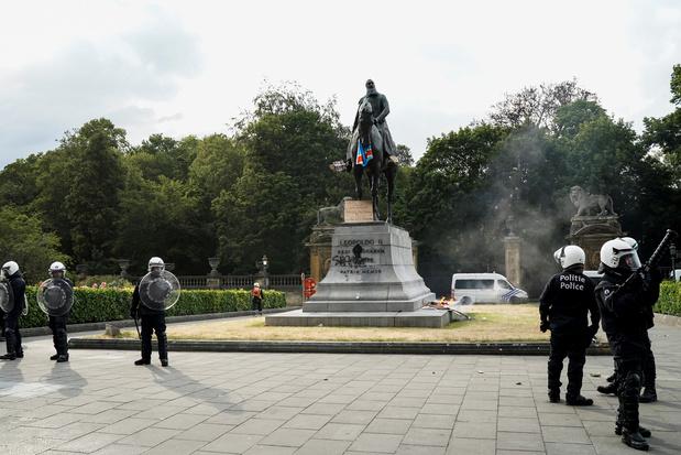 Les statues de Léopold II attaquées au nom de l'antiracisme