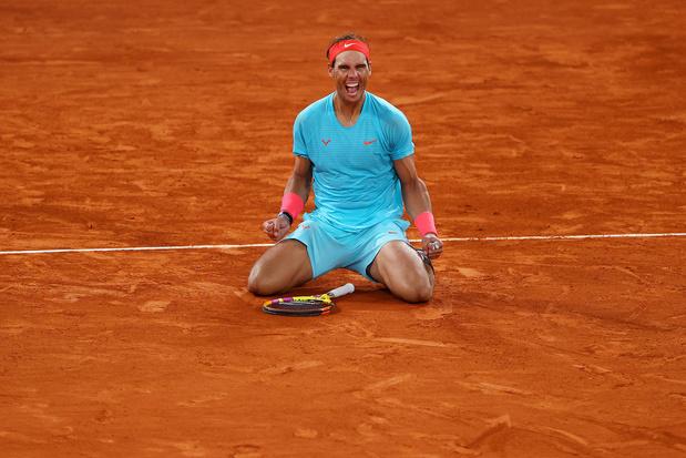 Rafael Nadal: 13 zeges op Roland Garros in 13 cijfers