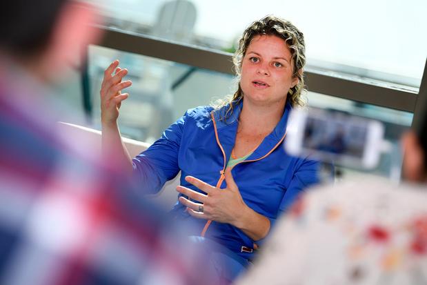 C'est le grand jour pour Kim Clijsters: tout savoir sur sa 1ère rencontre