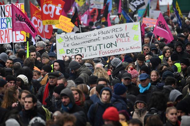 Les grèves ont pesé sur la croissance française