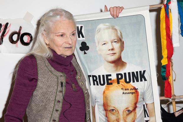 Punkprotest, ruilhandel en Lena Dunham: Londen Fashion Week start woelig
