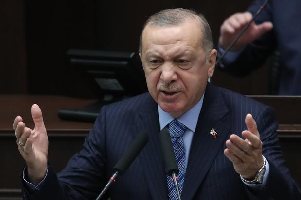 Erdogan s'en prend au mouvement LGBT