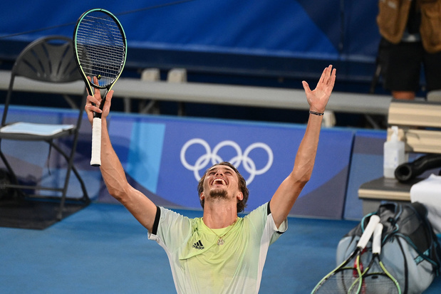 Tokyo 2020: Alexander Zverev se pare d'or