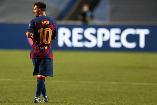 Lionel Messi a repris l'entraînement collectif avec le FC Barcelone