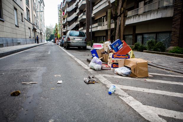 Bruxelles augmente sensiblement les amendes en matière de propreté publique