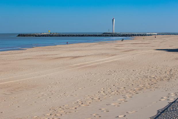 Coronavirus: Bredene ferme la seule plage naturiste de la Côte belge durant un an