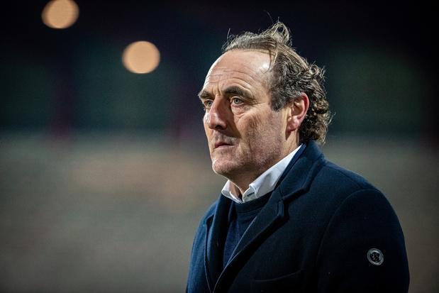 Yves Vanderhaeghe na ontslag bij KV Kortrijk: 'Ik zag het nog zitten, zij blijkbaar niet'