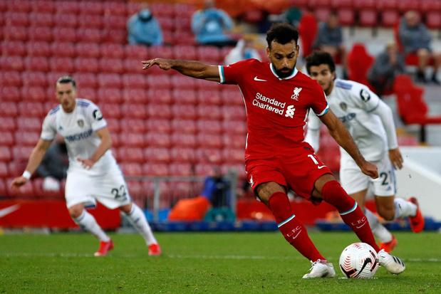 Festival de buts entre Liverpool et Leeds