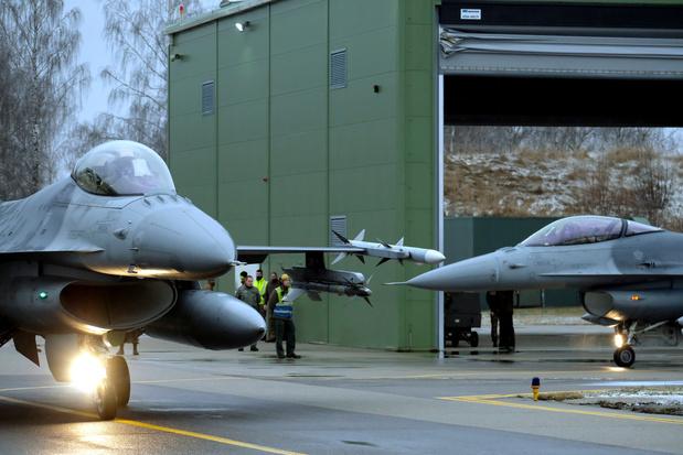 Des F-16 belges de retour en Syrie au second semestre 2020