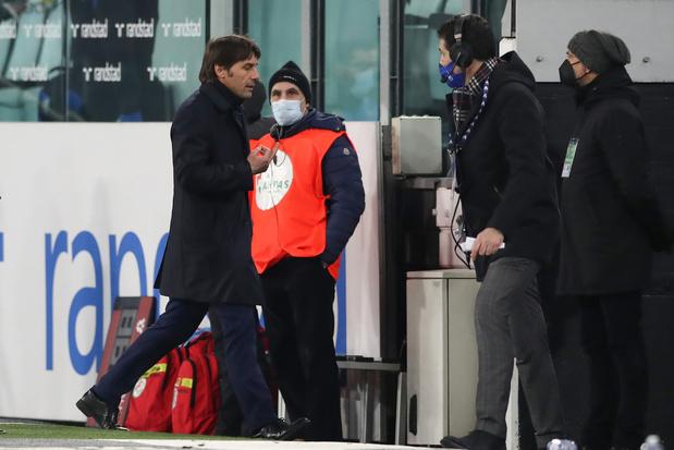 Conte en Juventusvoorzitter Agnelli schelden elkaar de huid vol tijdens halve finale beker