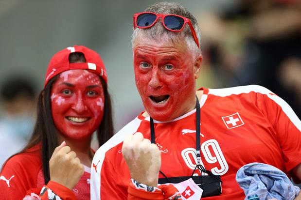 La Suisse a fêté sa victoire contre la France avec beaucoup d'humour (photos et vidéos)