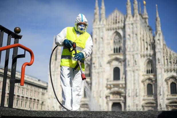 Italie : hausse de 6,8% du nombre de personnes guéries