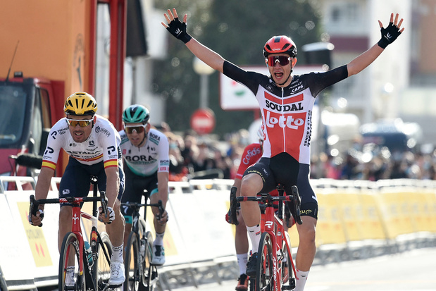 Ronde van Catalonië: Andreas Kron schenkt Lotto Soudal zege in eerste etappe